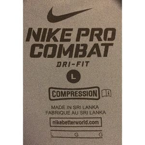 Nike Shirts - EUC Men's Short Sleeve Training Nike Pro Combat